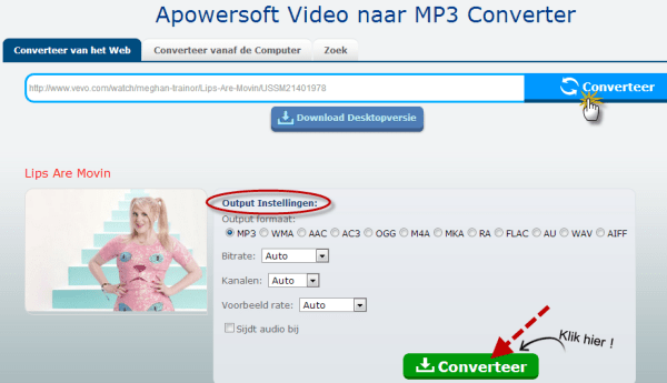 Video naar MP3 Converter