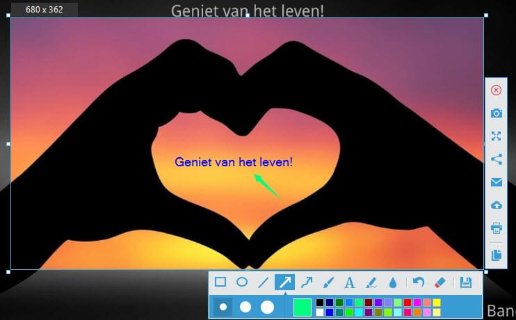 Screenshots maken
