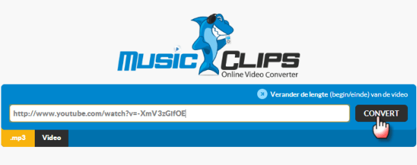 music clips converteer