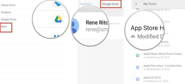 Google Drive of OneDrive