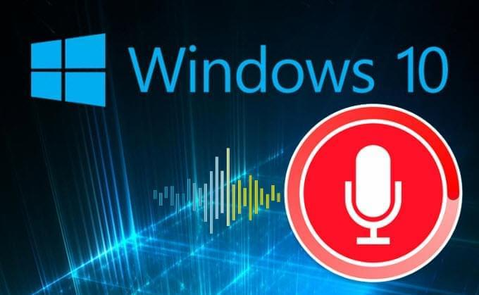 audio opnemen Windows 10